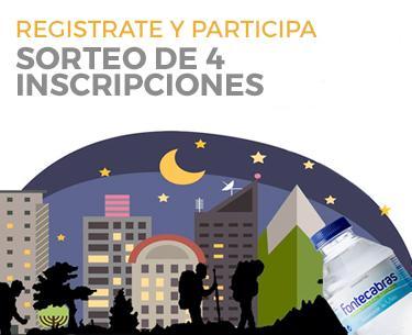 Andada nocturna de Zaragoza