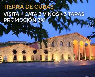 Tierra de Cubas Promoción 2x1 en visitas guiadas