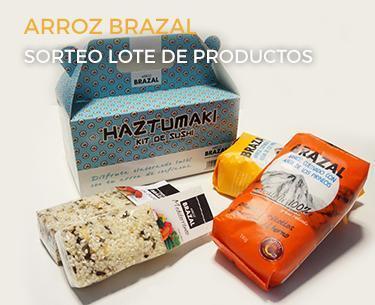 Sorteo de un lote de productos de Arroz Brazal