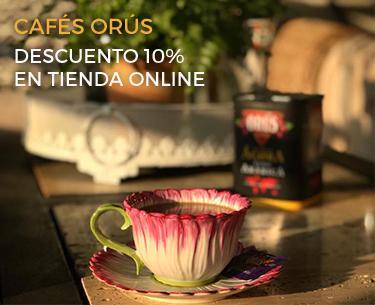 10% de descuento en la tienda online de Cafés Orús
