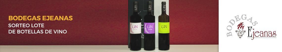 Sorteo de lote de botellas de vino de Bodegas Ejeanas