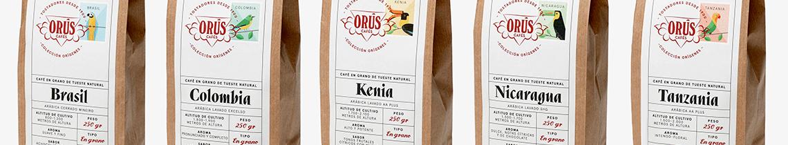 """Cafés Orús presenta su nueva línea gourmet """"Colección Orígenes"""""""