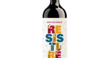 Vino solidario Resistiré de Bodegas Aragonesas