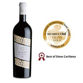 Legado de Gala Placidia 2015 de Bodegas San Valero entre los tres mejores de España según Mundus Vini